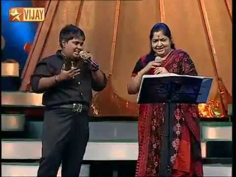 En jodi Manja Kuruviby Akhilesh and Chithra (Kannathasan)