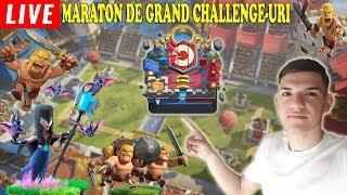 🔴[LIVE] WEEKEND MARATON DE GRAND CHALLENGE-URI! Clash Royale Romania