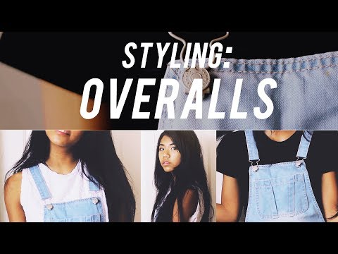 How I Style // Overalls