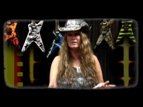 Rita Haney And DEAN GUITARS Shredder Contest!!