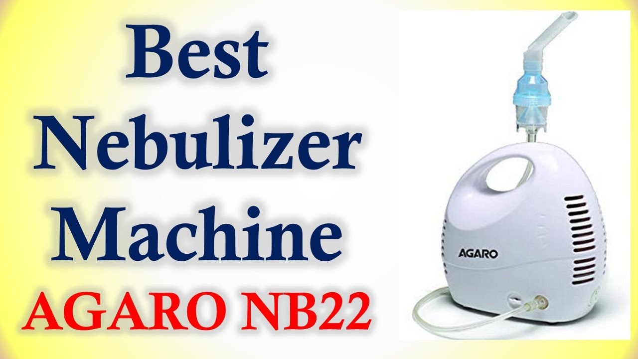 Best Nebulizer Machine in India |AGARO NB22 NEBULIZER ...