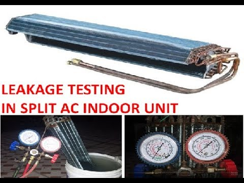 How to fix refrigerant leakage problem in Split AC | how to check gas leakage in Split Ac & fix it