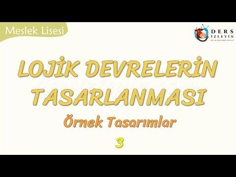 LOJİK DEVRELERİN TASARLANMASI - 3