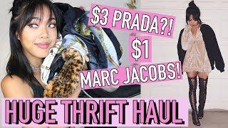 Baixar BIRTHDAY THRIFT HAUL! $3 PRADA, $1 MARC JACOBS! | FASHION | Nava Rose
