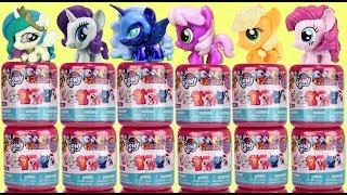 NEW! FULL Box Set of My Little Pony MLP Season 9 Squishy Toy Fashems