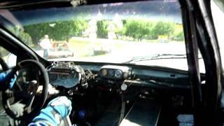 Subaru Enterprise - Ustecka 21 Time 2m09s  onboard hill climb Petr Tomasek - 2011.MOV