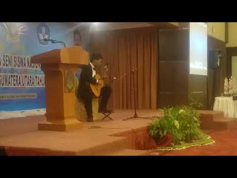 Gitar klasik juara 1 sumatra utara- walt dan lagu daerah batak