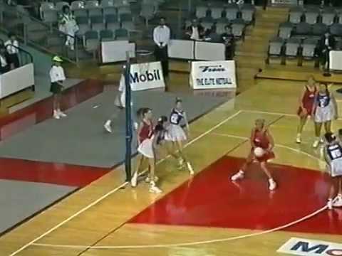 1994 Netball Mobil League - Melbourne Keas v Perth Superdrome Bullets