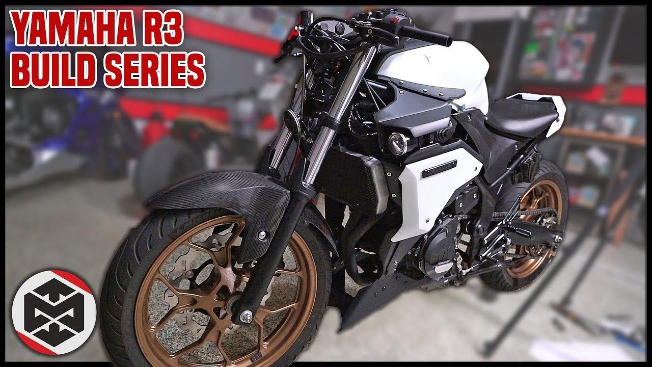 Yamaha R3 Streetfighter Conversion!