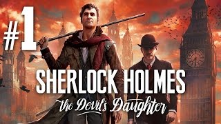 Thumbnail für das Sherlock Holmes: The Devil's Daughter Let's Play