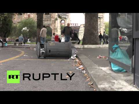 Italy: Rome reels after night of rage