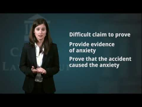 Anxiety and PTSD after a Car Accident