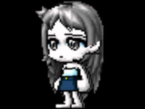 Maplestory awesome  hairstyle ( Female)