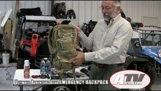 ATV Television - Ultimate Adventure Gear Emergency Preparation Backpack