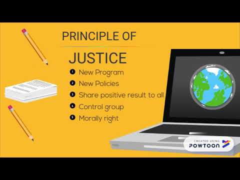 Justice research ethics