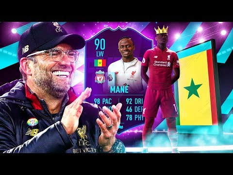 BETTER VALUE THAN TOTS MANE?! 90 PLAYER OF THE MONTH MANE PLAYER REVIEW! FIFA 19 Ultimate Team