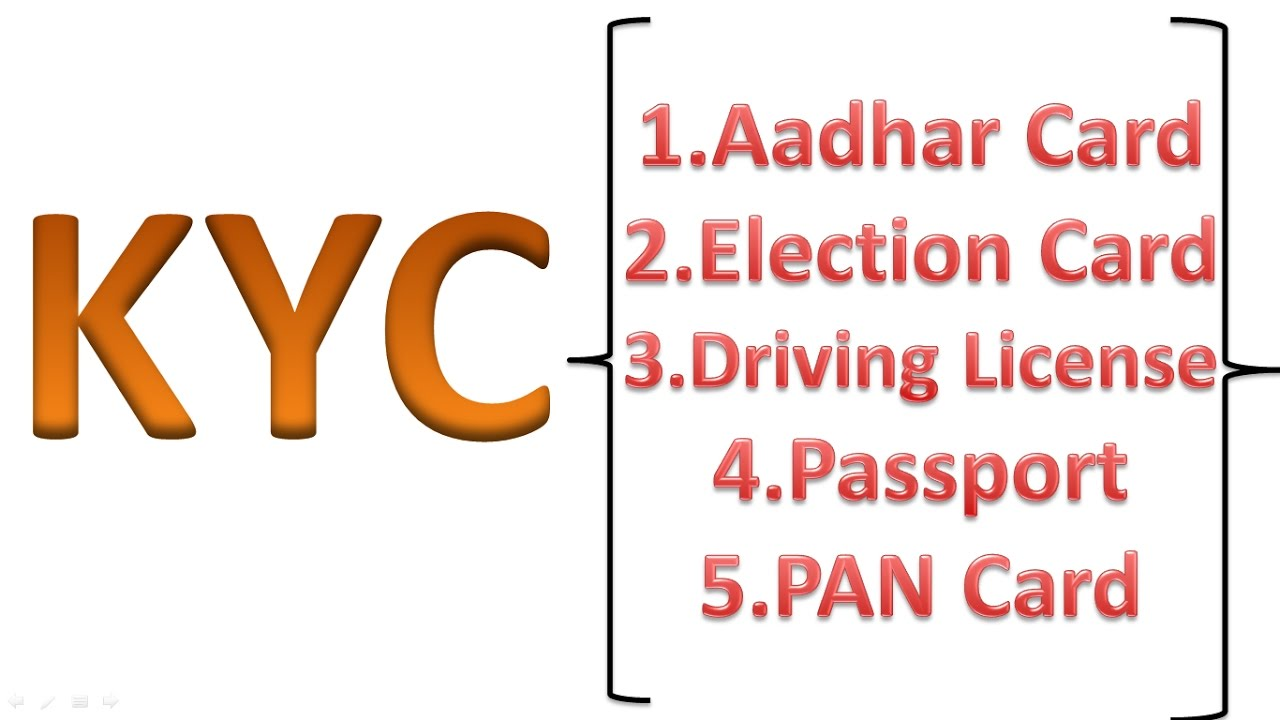 What is KYC in Hindi केवायसी क्या होता है What is kyc?Working Importance  Explained