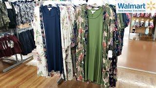 Walmart SHOP WITH ME * Terra & Sky PLUS SIZE Fashion Time and Tru 2019