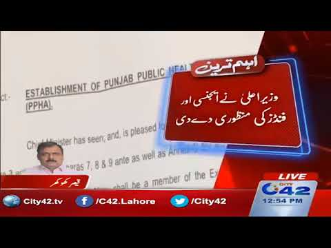 Punjab Chief Minister approved the Public Health Agency