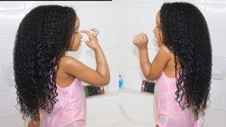 Rice Water For Toddler/kids Fast Hair Growth Wash Day Routine