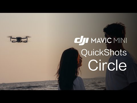 "Mavic Mini | How To Perform A ""Circle"" QuickShot"