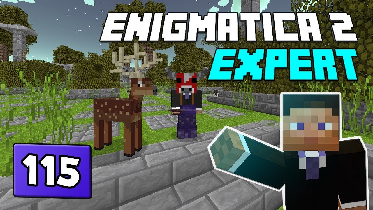 Enigmatica 2: Expert Mode - EP 115 The Twilight Forest & Infinity Tools