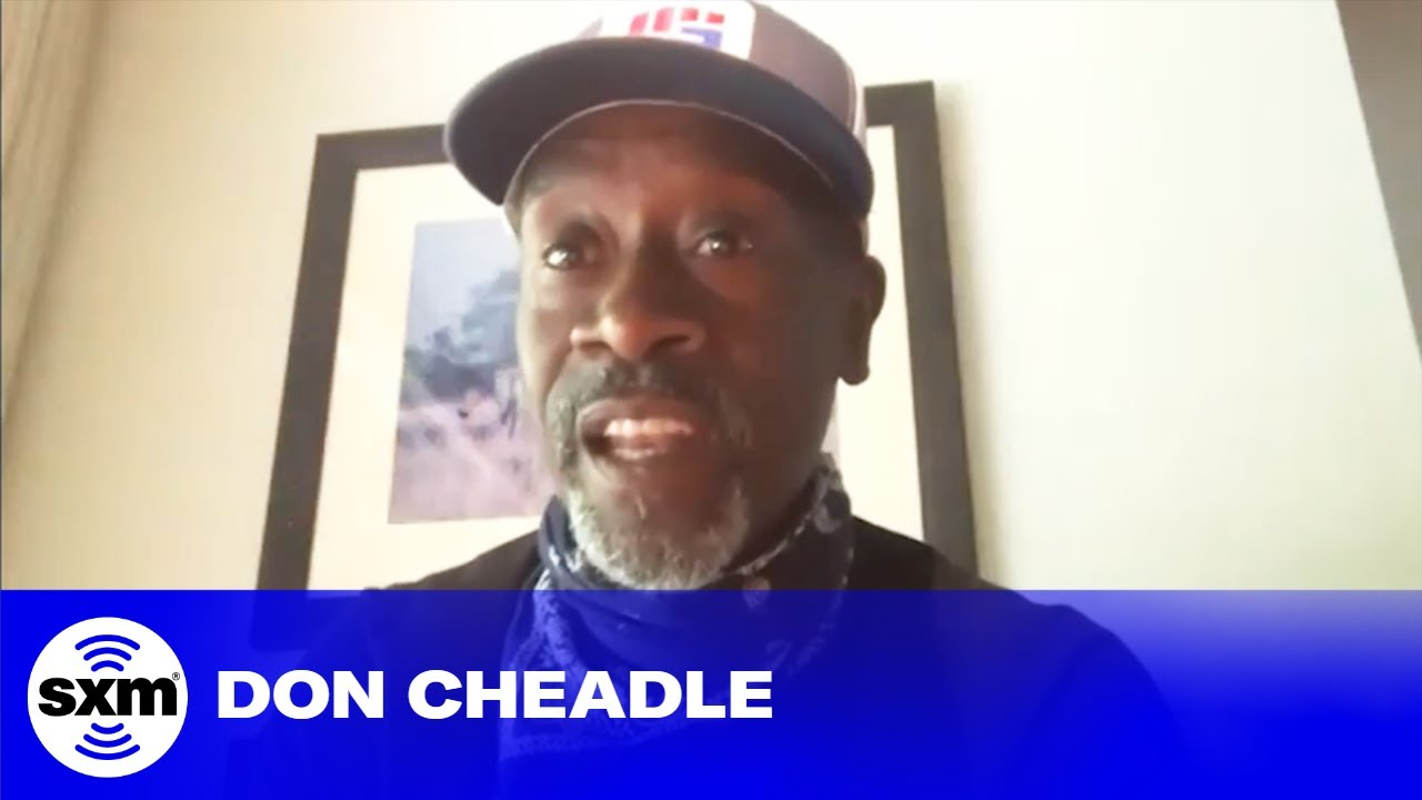 Don Cheadle Found Out He Was War Machine at His Daughter's Birthday Party