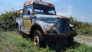 Неожиданная находка Брошенный ГАЗ-69 (ARO M461)