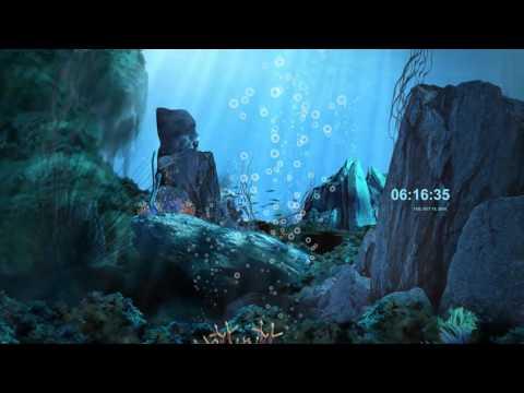 Анимированная заставка подводный мир