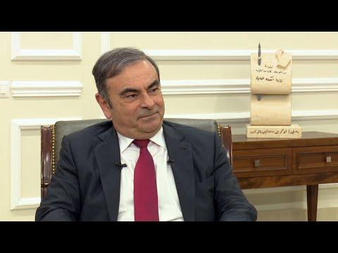 """Carlos Ghosn sur France 24 : """"Je m'attendais à ce que la justice m'interdise de quitter le Liban"""""""