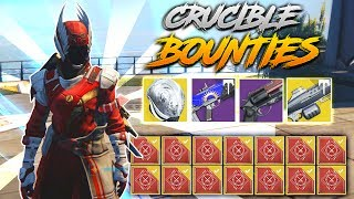 Destiny - FINALLY!! Crucible Weapon Bounty Opening!