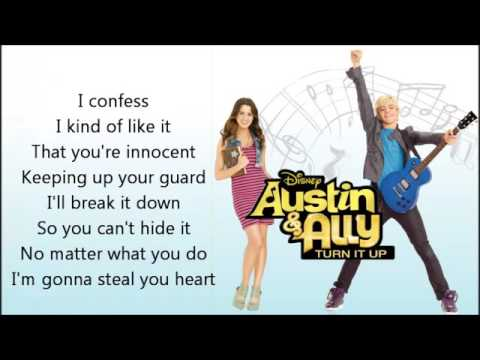 Steal Your Heart Lyrics FULL SONG   Ross Lynch   Austin & Ally