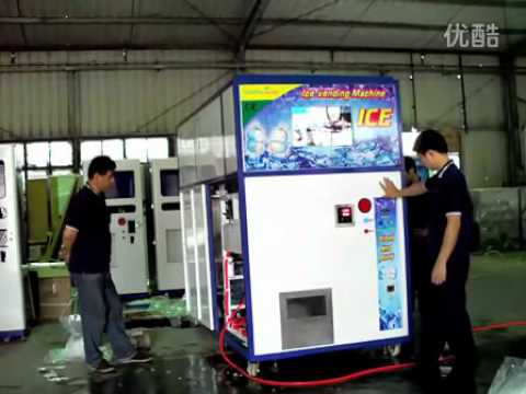 Automatic 900kg Ice Cube Vending