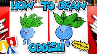 How To Draw Oddish Pokemon