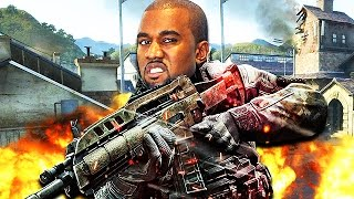 KANYE WEST PLAYS CALL OF DUTY! (Funny Voice Trolling)