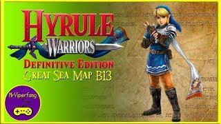 Hyrule Warriors (Switch): Great Sea Map B13 - Link