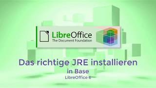 LibreOffice: Das richtige JRE installieren (German/Deutsch)