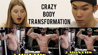 REACTION | Hrithik Roshan's Body Transformation | The other side of Kabir