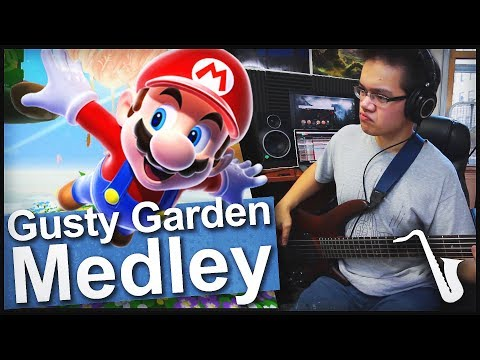 Gusty Garden Galaxy Medley Jazz Arrangement || insaneintherainmusic