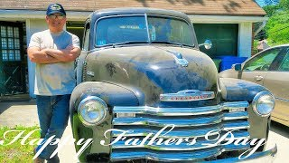 A Man And His Truck - 1952 Chevy 3100 Half Ton