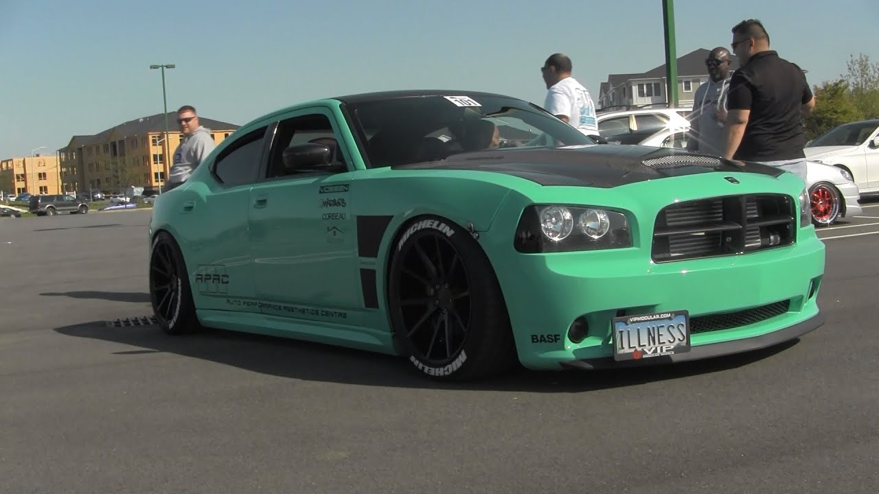 apac heavily modded widebody dodge charger youtube