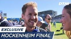 Sebastian Vettel visits the DTM Final - DTM Hockenheim Final 2017