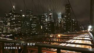 iPhone 8 Long exposure time-lapse in New York