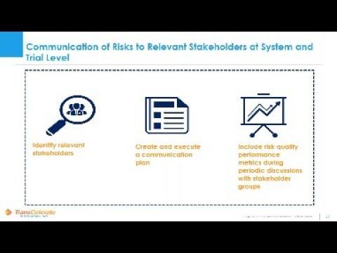 Quality Management System Framework: Best Practices For Clinical Development Risk Management