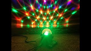 perfeclan 1x Disco Party Lights Strobe LED DJ Ball Sound Bulb Activado L/ámpara De Baile AU
