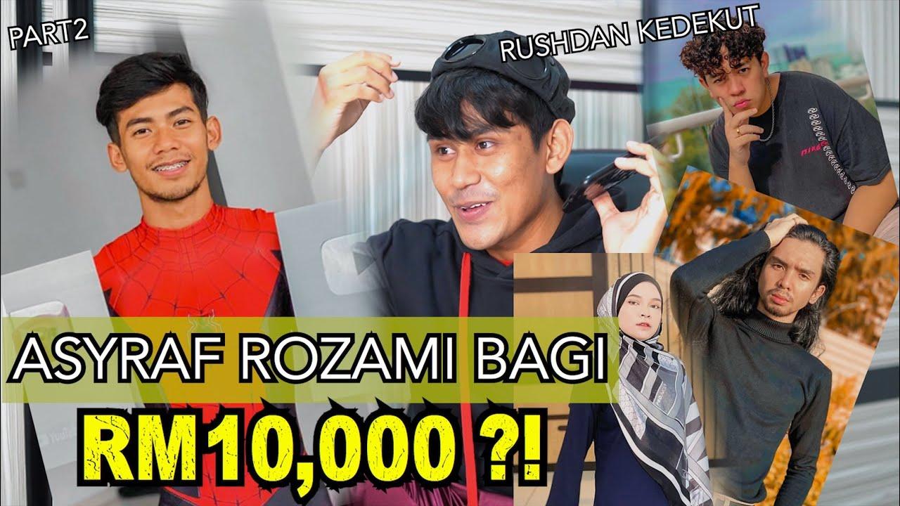 Pinjam duit RM10,000 Asyraf Rozami bagi ?! Rushdan Wafa kedekut ?! PRANK part2