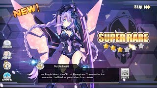[Azur Lane] 60 cubes construction Neptunia Event  Purple Heart and White Heart Rate Up