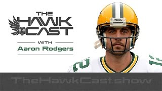 Aaron Rodgers: Leadership, Golfing with POTUS, Mics on the field - The HawkCast