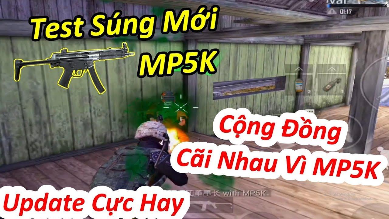 Test súng mới MP5K – Cộng Đồng Game Thủ Cãi Nhau Vì MP5K Mạnh 1 Cách Vô Lí ??? | PUBG Mobile