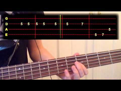 Blur - Ghost Ship Bass Cover (With Tab)